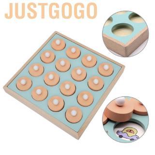 Justgogo Children Toys Memory Training Matching Pair Board Game Child Educational Montessori Gift