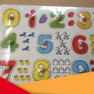 [ẢNH THẬT] Bảng 10 số tập đếm cho bé 020 có núm