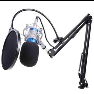 [Freeship toàn quốc từ 50k] Micro thu âm BM900 và chân giá micro và lọc âm