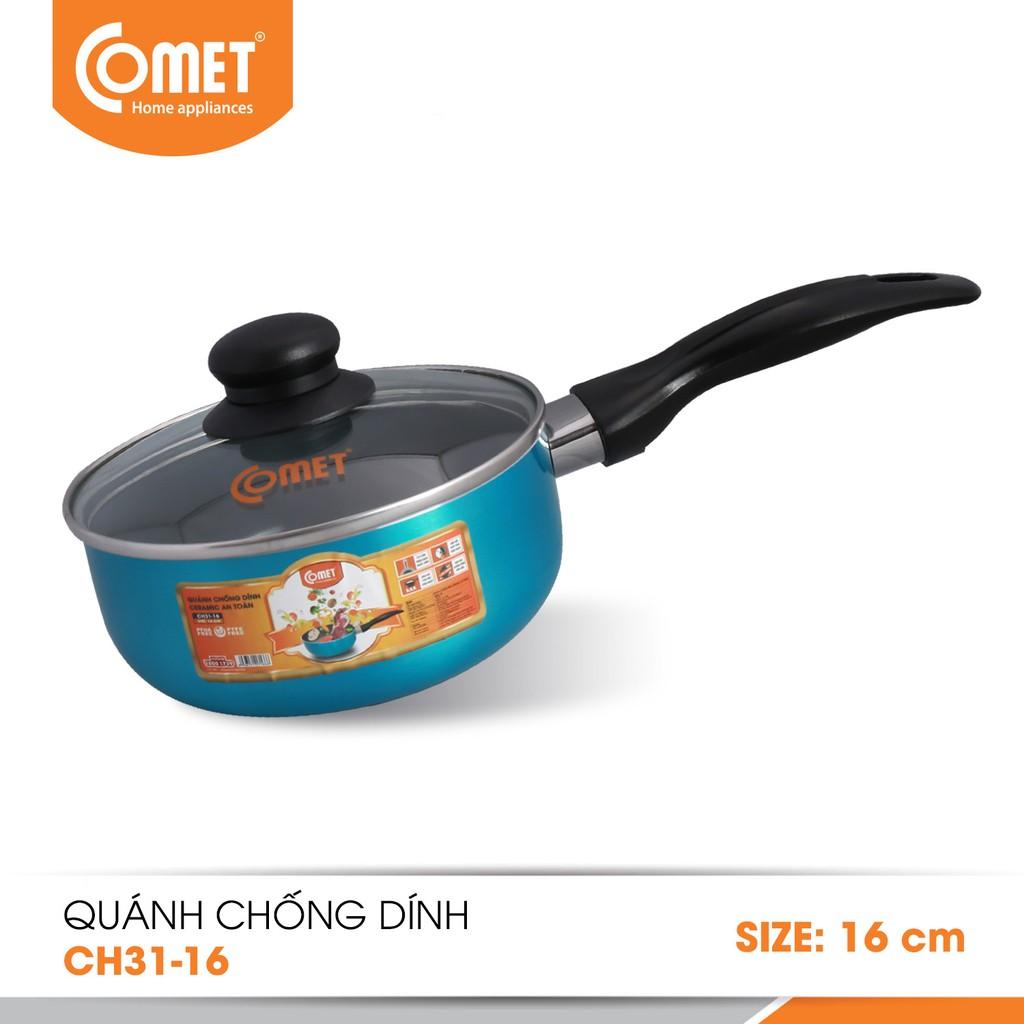 Quánh chống dính Ceramic an toàn Comet CH31-16