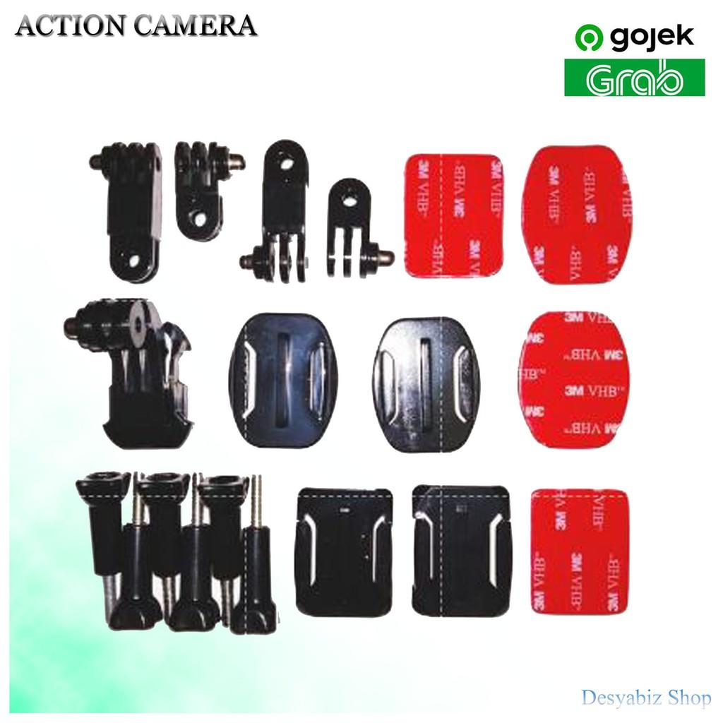 Giá Đỡ Camera Hành Trình Xiaomi Yi Brica Kogan Gopro Gắn Mũ Bảo Hiểm