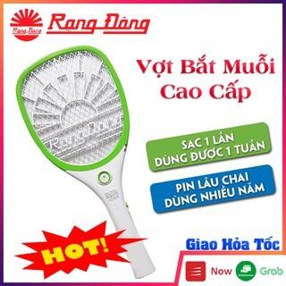 Vợt bắt muỗi Rạng Đông cao cấp, hàng chính hãng Việt Nam