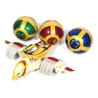 DX Karakuri Ball 15-16-17 Gattai Huricanger