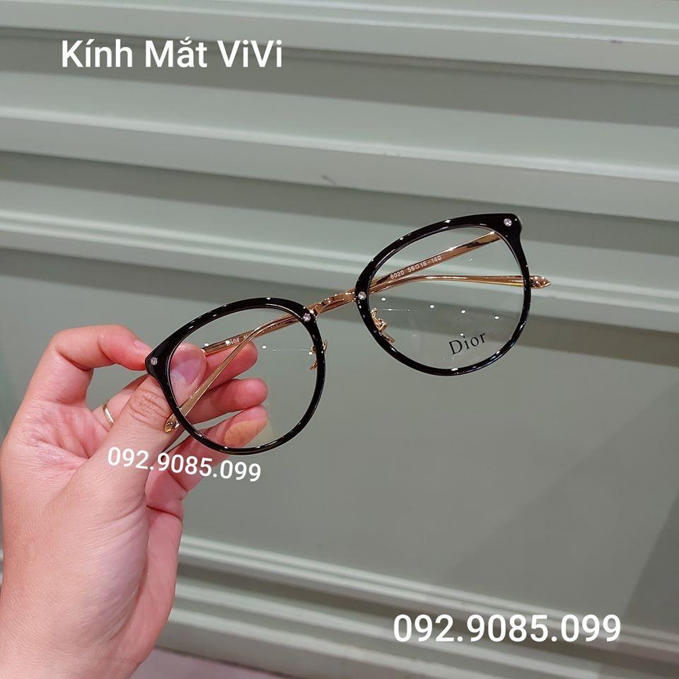 [Mã SKAMCLU7 giảm 10% cho đơn từ 0Đ] Gọng kính cận Dáng Tròn - Nhân cắt cận viễn loạn