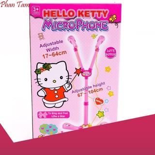 [HÀNG CÓ SẴN] Bộ đồ chơi Microphone hát đôi Hello Kitty RoyalKid1325 siêu bền