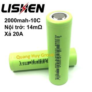 PIN SẠC 18650 | Cell pin 18650 Lishen 2000mah xả 10C