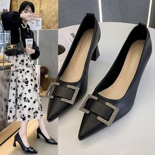 Giày Cao Gót Mũi Nhọn Thời Trang Dành Cho Nữ 2021