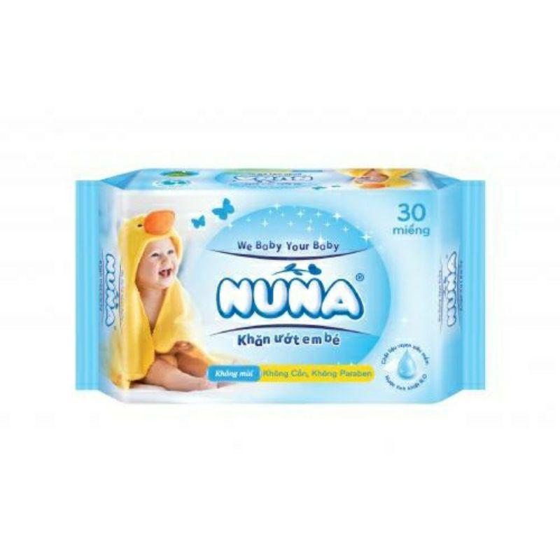 Khăn ướt Nuna gói 30M