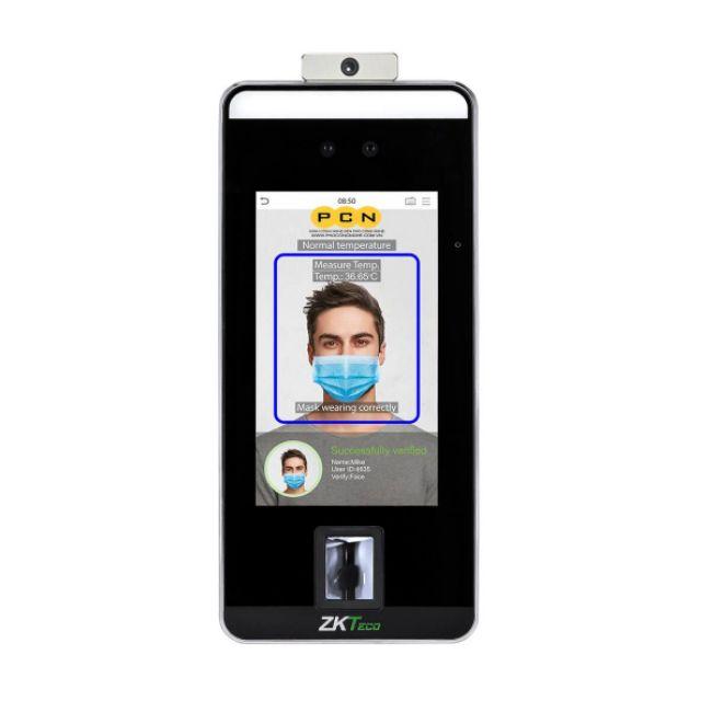Máy chấm công khuôn mặt và vân tay ZKTeco SpeedFace-V5L(TD)