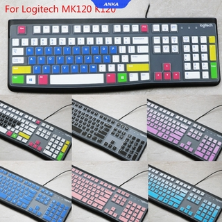 Miếng Dán Bảo Vệ Bàn Phím Cho Logitech Mk120 K120 thumbnail