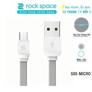 Cáp Rockspace S05 Micro dành samsung và các điện thoại android