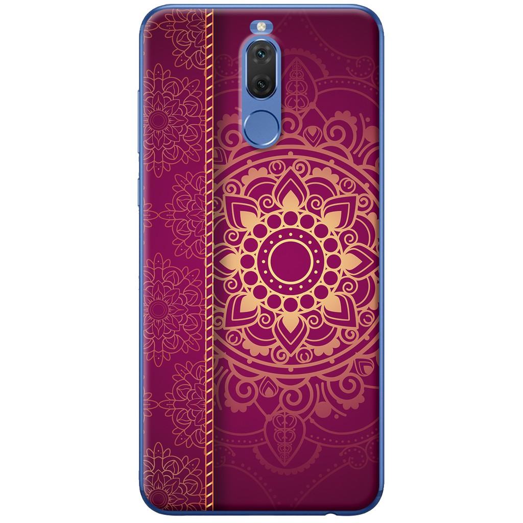 Ốp lưng nhựa dẻo Huawei Nova 2i Mandala màu tía tô