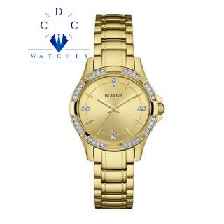 Đồng hồ Nữ Buova Dây kim loại 98L220 thumbnail