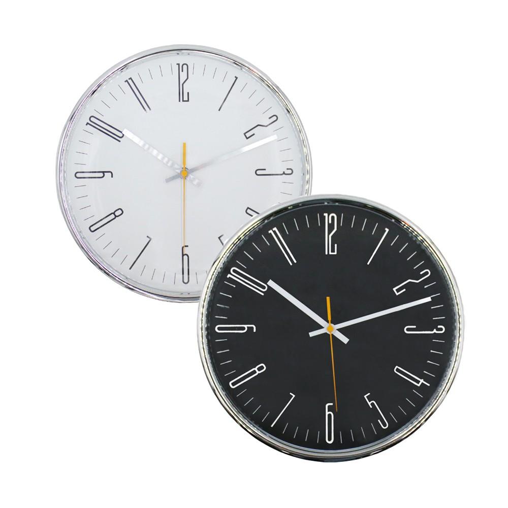 Đồng hồ treo tường kim trôi   JYSK Classic   nhựa nhiều màu   DK31cm