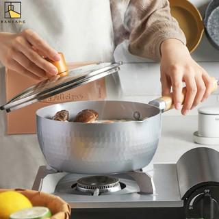 BANFANG Nồi nấu ăn bằng kim loại tiện dụng cho gia đình