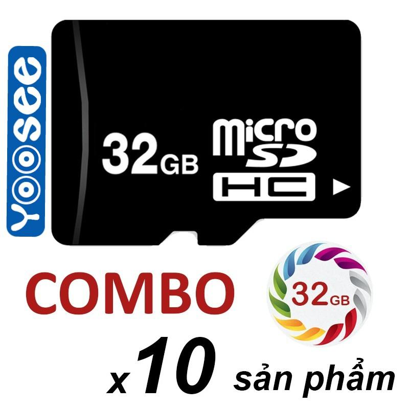 Sỉ Combo 10 thẻ Micro SD 32Gb dùng cho yoosee camera - 2960823 , 1277806709 , 322_1277806709 , 1500000 , Si-Combo-10-the-Micro-SD-32Gb-dung-cho-yoosee-camera-322_1277806709 , shopee.vn , Sỉ Combo 10 thẻ Micro SD 32Gb dùng cho yoosee camera