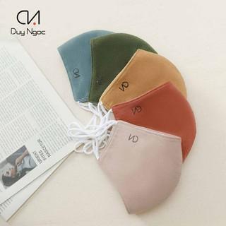 Khẩu trang Nhung Plus Duy Ngọc cao cấp, chất liệu vải nhung mềm mịn (0611) thumbnail