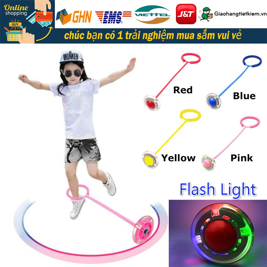 Children Outdoor Toy bóng chơi ngoài trời, bóng tâng có đèn LED nhảy vòng tròn