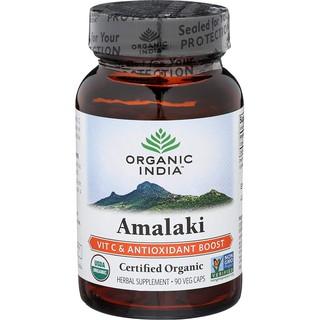 Viên Vitamin C Hữu Cơ Amalaki Organic India 90 viên