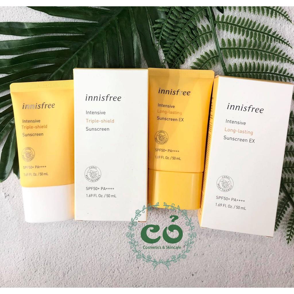 Kem Chống Nắng Innisfree Intensive Sunscreen (mẫu 2019)