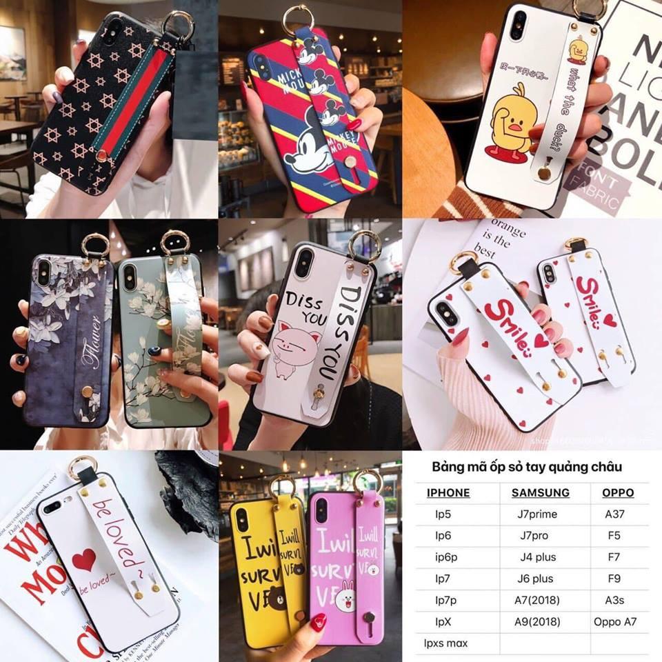 Ốp điện thoại xỏ tay nhiều mẫu