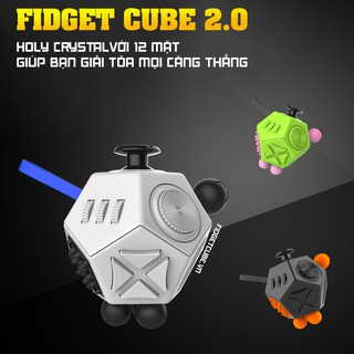 [Nhập TOYMAR giảm 10%] Magix™ Holy Crystal – Fidget Cube Gen 2 Nhiều Màu