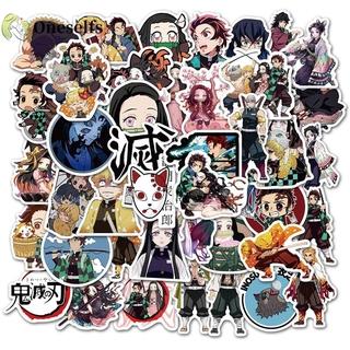 Bộ 50 Miếng Dán Graffiti Hoạt Hình Phong Cách Nhật Bản