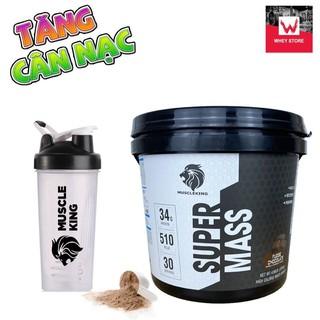 SUPER MASS – Sữa Tăng Cân Hãng Muscle King 2.25 Kg + Tặng bình lắc 700ml