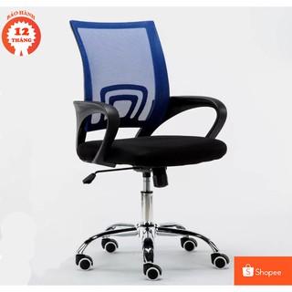 Ghế xoay lưới văn phòng BOX405-BLUE – Nội thất cho văn phòng hiện đại