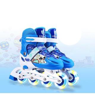 Giày trượt Patin Sports điều chỉnh size ( 36 đến 41)