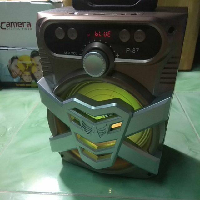 Loa karaoke bluetooth P87 tặng kèm micro - 2522280 , 464942515 , 322_464942515 , 310000 , Loa-karaoke-bluetooth-P87-tang-kem-micro-322_464942515 , shopee.vn , Loa karaoke bluetooth P87 tặng kèm micro