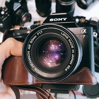 Ống kính MF Konica Hexanon AR 50mm F1.7 thumbnail