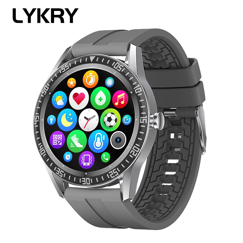 Đồng Hồ Đeo Tay Thông Minh Lykry N70 Bluetooth Đo Nhịp Tim Theo Dõi Tập Luyện Chống Thấm Nước Ip67 1.28 Inch
