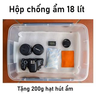 Hộp chống ẩm 18 Lít cho máy ảnh hàng Việt Nam siêu rộng