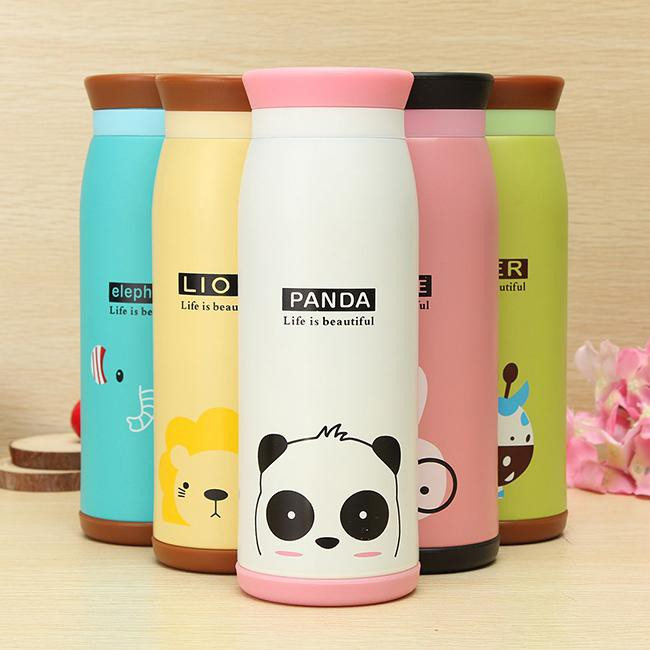 Bình giữ nhiệt Hàn Quốc cao cấp dung tích 500ml Panda