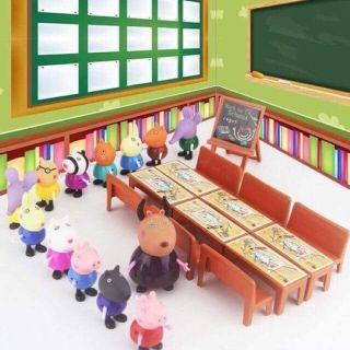 Bộ lớp học của peppa pig