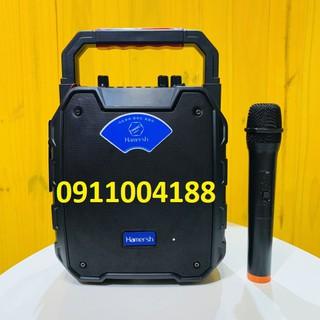 Loa Kéo Mini HAMERSH SL 0662 Hàng Chính Hãng, Loa xách tay công suất lớn + Tặng 1 Micro + Bảo hành 6 tháng