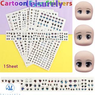 1 Tấm Hình Dán Trang Trí Chất Lượng Cao Cho Búp Bê Barbie
