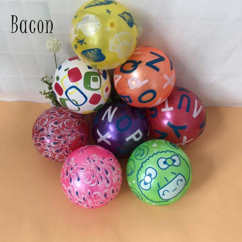 Bacon 22cm trẻ em inflatable đồ chơi bóng liệu vật PVC