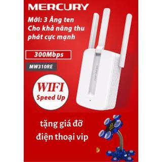 Bộ Kích Sóng Wifi Mercury Repeater MW310RE 3 Anten Cực Mạnh