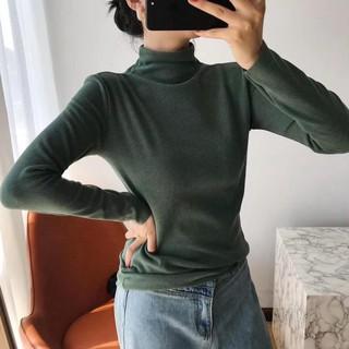 ( Hàng Đẹp ) Áo len dệt giữ nhiệt, co giãn tốt, siêu ấm, TÚI VÀNG ( ảnh thật )