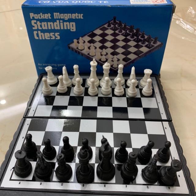 Bộ cờ vua nam châm loại nhỏ KT 15x15cm