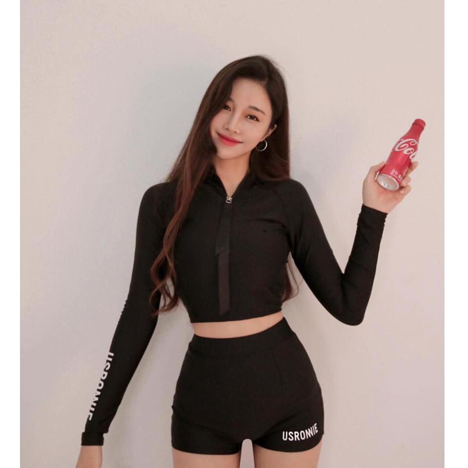 Bikini Hàn quốc quần đùi áo dài tay - 3376018 , 1009559272 , 322_1009559272 , 350000 , Bikini-Han-quoc-quan-dui-ao-dai-tay-322_1009559272 , shopee.vn , Bikini Hàn quốc quần đùi áo dài tay