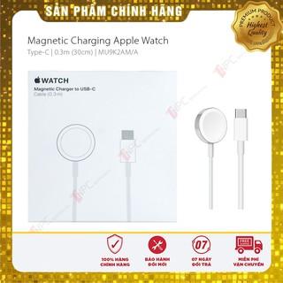 Cáp Sạc Apple Watch Chính Hãng | Magnetic Charger to USB | USB-C (0.3m)