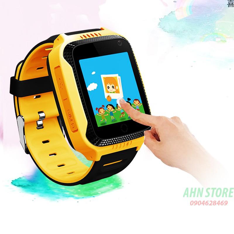 Đồng hồ định vị trẻ em GPS Setracker Q528 (Vàng)