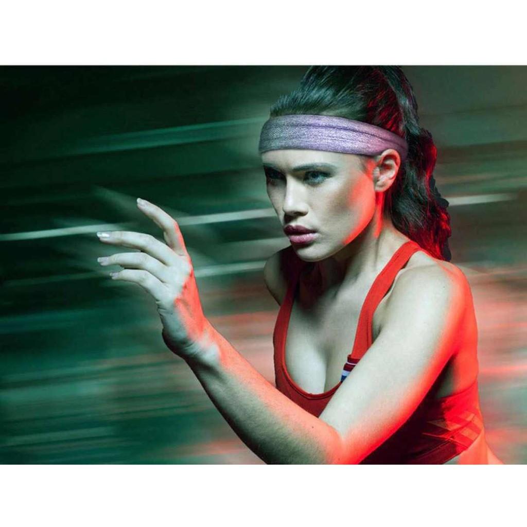 Băng đô thể thao Aolikes 2103 - Băng đô đeo trán thấm hút mồ hôi, chống trượt, không bài xù