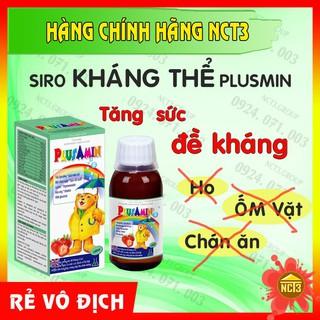 { BÁN GIÁ GỐC } Siro Kháng Thể Thymolin Plus Min ( Hàng chính hãng công ty NCT3 ) .