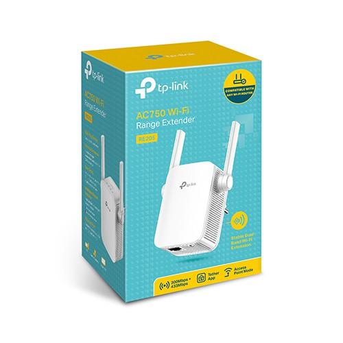 Bộ mở rộng sóng wifi TP-Link RE205 AC750Mbps (Chính hãng)