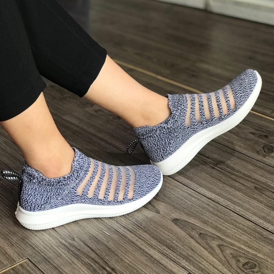 Giày lười nữ không dây hiệu Duwa DHD01-2WP - MOL VN