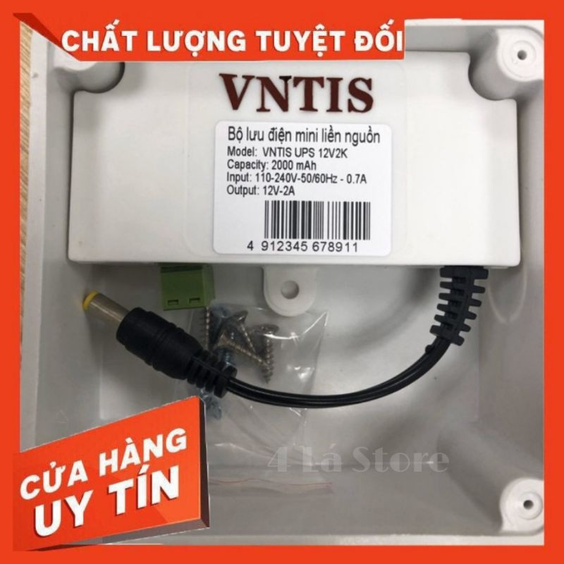 Bảng giá Bộ lưu điện 5V, 12V cho các thiết bị như camera, cục phát wifi Phong Vũ